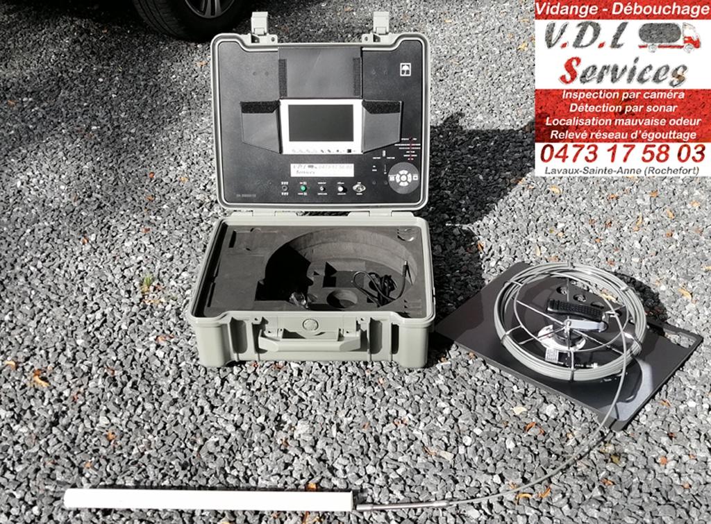 Mini caméra d'inspection